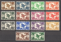 1942 New Caledonia French Colony Airmail (Full Set)