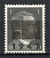 1945 Netzschkau-Reichenbach Germany Local Post 1 Pf (CV $520, Type IIa, MNH)
