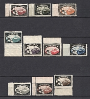 1920 Lost Colonies Propaganda Stamps, Germany (MNH)
