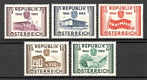 1955 Austria (CV $60, Full Set, MNH)