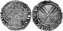 Grosso (2, 31 g), undated (1378-1394), Clemens VII, Avignon, ss.. Grosso