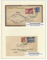 Brazil - Zeppelin Flights Collection 1930-32, 11 covers or cards (2)