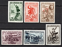 1940 USSR The 20th Anniversary of Fall of Perekop (Imperf, Full Set)