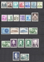 1953-60 Austria Collection (CV $150, Full Sets, MNH/MH)