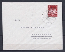 1943 Third Reich FDC cover with special postmark Kiel CV 40 EUR