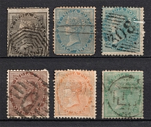 1865-73 India, British Colonies (Canceled)