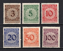 1923 Third Reich, Germany (Full Set, CV $130, MNH)