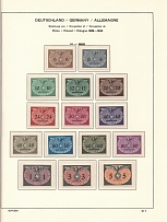 1940 General Government Official Stamps (2 Scans, CV $100, Full Sets, MNH)