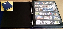 Accessories Fine 4-ring binder incl 66x extra wide 5-strip Hagner sheets incl GB