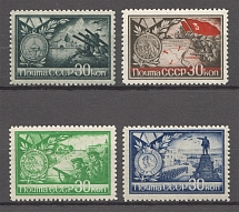 1944 USSR Cities-Heroes of the Word War II (Full Set, MNH)