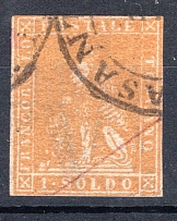 TOSCANA, Michel no.: 11 USED, Cat. value: 4000€