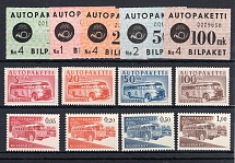 FINNLAND-AUTOPAKETMARKEN, Michel no.: 1-13 MNH, Cat. value: 177€
