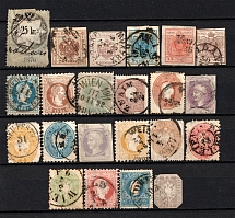 1850-80 Austria (Group of Stamps, Canceled)