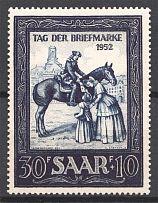 1952 Saar Germany (Full Set)