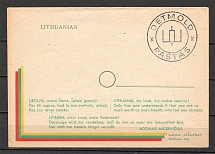 Lithuania Scouts Baltic Dispaced Persons Camp Detmold Cover