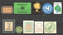 Germany Non-Postal Group of Stamps