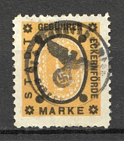 Germany Municipal Fee Stamp (Cancelled)