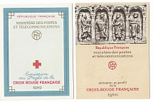 France 1959 Red Cross booklet - fine, ditto 1960 c£91