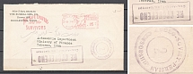 1942 USA Soviet-Anglo-Iranian Censored Censorship Cover Middletown - Teheran