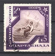 1935 International Spartacist Games at Moscow (RRR, Double Print+ Mirror Image)