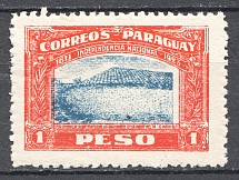 1923 Paraguay Displaced Center