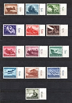 1944 Third Reich, Germany Wehrmacht (Control Numbers, Full Set, CV $25, MNH)