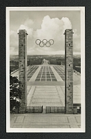 1936 The Reichs Sports Field View through the East Gate, Olympic Games