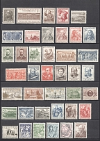 1954-57 Czechoslovakia Collection (Full Sets, 3 Scans, CV $90, MNH)