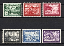 1941 Third Reich, Germany (Full Set, CV $80, MNH)