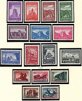 1942-43 Serbia Reich Occupation (Full Sets, MNH)