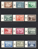 1939 Third Reich, Germany (Control Numbers `8`, Full Set, CV $110, MNH)