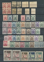LATVIA - REMAINDER OF A COLLECTION, 1918-40, 420 mostly mint stamps