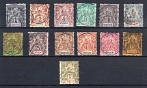 OBOCK, Michel no.: 24-36 USED, Cat. value: 190€