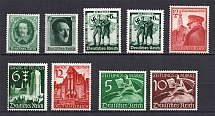 1936-39 Third Reich, Germany Collection (Full Sets, CV $50, MNH)