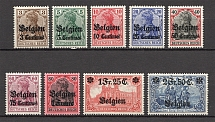 1914-18 Belgium Germany Occupation (CV $65, Full Set)
