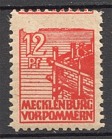 1945 Germany Soviet Zone Local Naumburg (MNH)