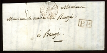 1844: letter addressed BAUGÉ