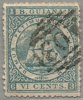 1878, 6 c., milky blue, used, very fresh and desirable, VF! Estimate 100€.  Auto