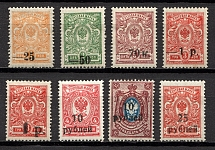 1918-20 South Russia Kuban Civil War (Perf, Offset, Signed)