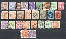 South Australia, British Colonies (Group of Stamps, Canceled)