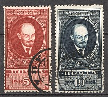 1925 USSR Lenin Definitive Issue (Perf 12.5, CV $300, Cancelled)