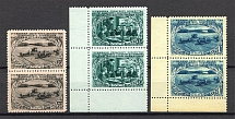 1950 USSR Agriculture in the USSR Pairs (Full Set, MNH)