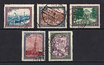 1925 Latvia (Full Set, CV $60, Canceled)