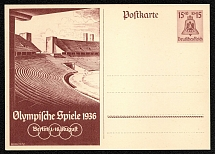 1936 Summer Olympic Games in Berlin