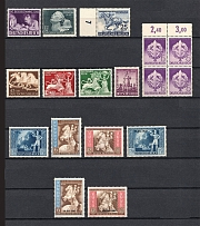 1942 Third Reich, Germany Collection (Full Sets, CV $85, MNH)