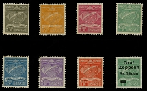 Brazil Air Post Semi-Official issues: 1927-30, Condor Syndicate, 500r-10,000r