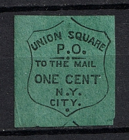1c New York Union Square Post Office, USA, Local