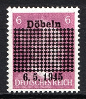 1945 Dobeln, Germany Local Post (Full Set, CV $25, MNH)