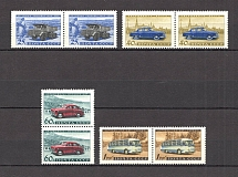 1960 USSR Soviet Automobile Industry Pairs (Full Set, MNH)