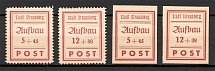 1946 Strausberg Germany Local Post
